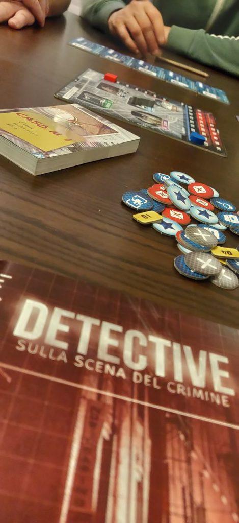 Detective: preparazione della partita