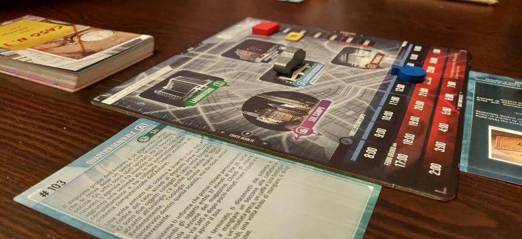 Detective: plancia di gioco