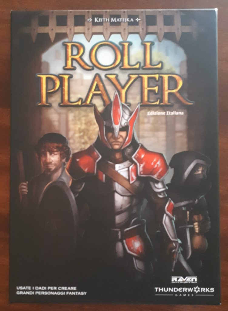 roll player: la scatola