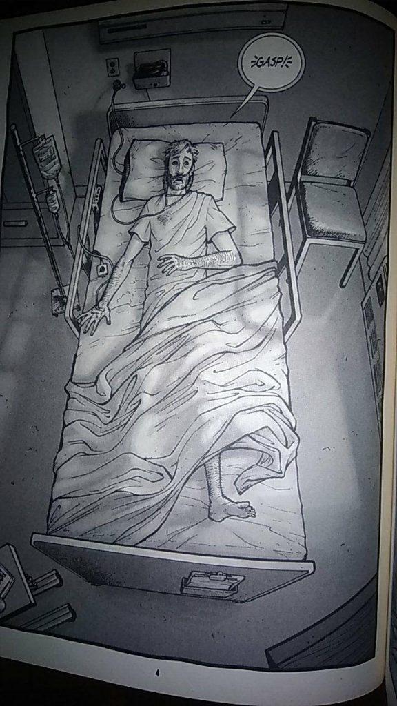 The walking dead: Rick Grimes si sveglia nel letto d'ospedale