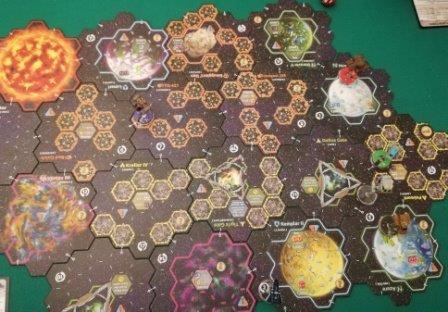 Xia: la mappa del gioco