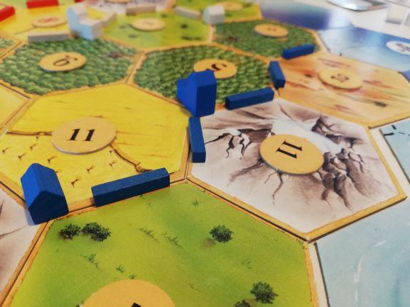 I coloni di Catan: situazione di gioco
