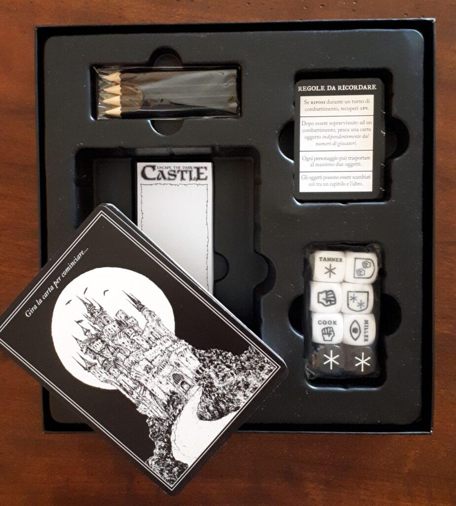 Escape Dark Castle componenti