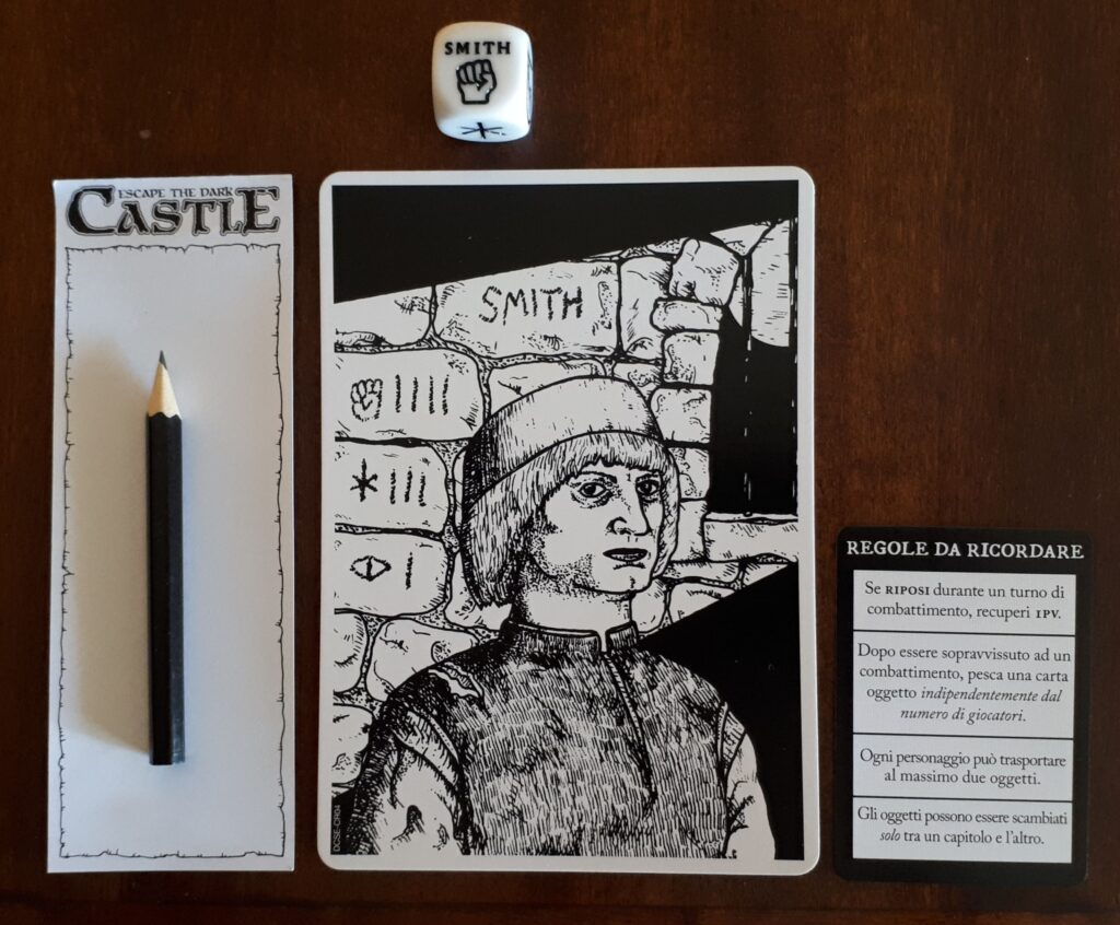 Escape Dark Castle setup