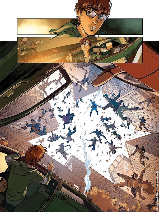 Sottosopra: una delle immagini del nuovo fumetto