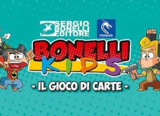 un nuovo gioco di carte ispirato ai Bonelli Kids