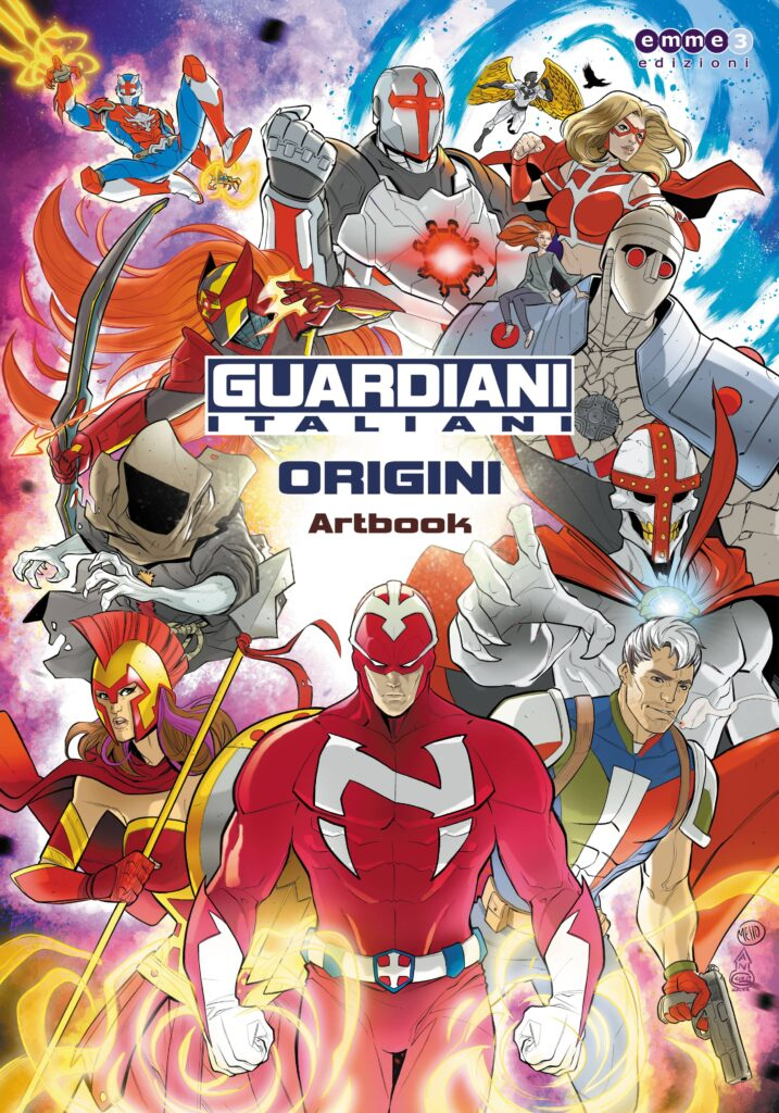artbook guardiani italiani su eppela