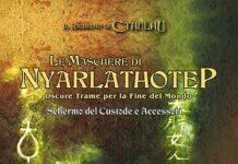 Le maschere di Nyarlathotep - la copertina
