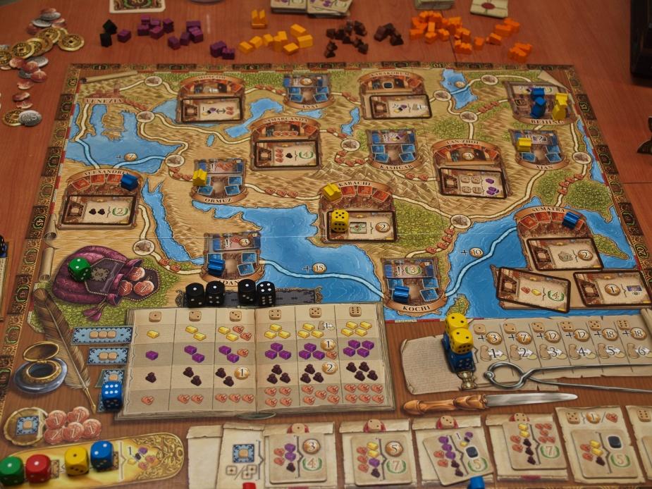 Marco Polo il tabellone