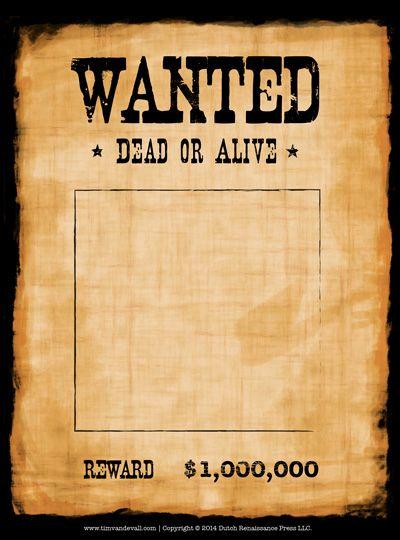 Free GDR: Wanted, pallottole e magia