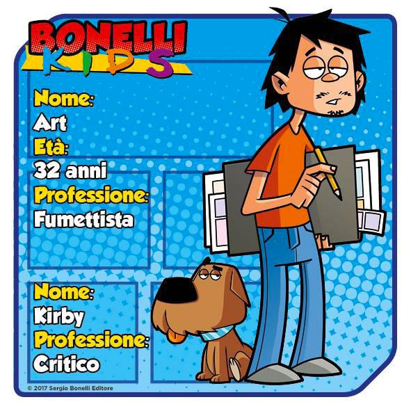 Bonelli kids: il presidente del club e il suo assistente.