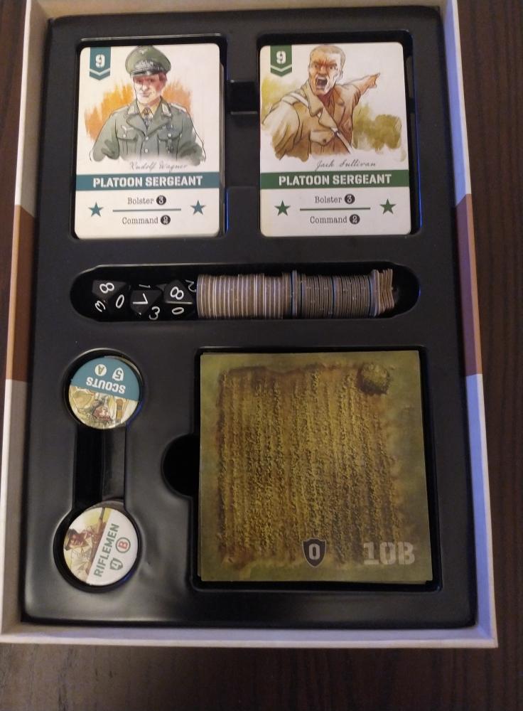 Undaunted inserto scatola