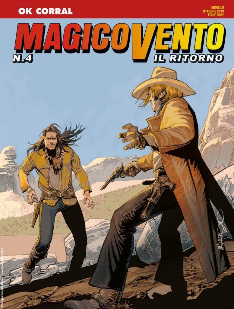 gico vento copertina numero 4 del ritorno fumetti ottobre