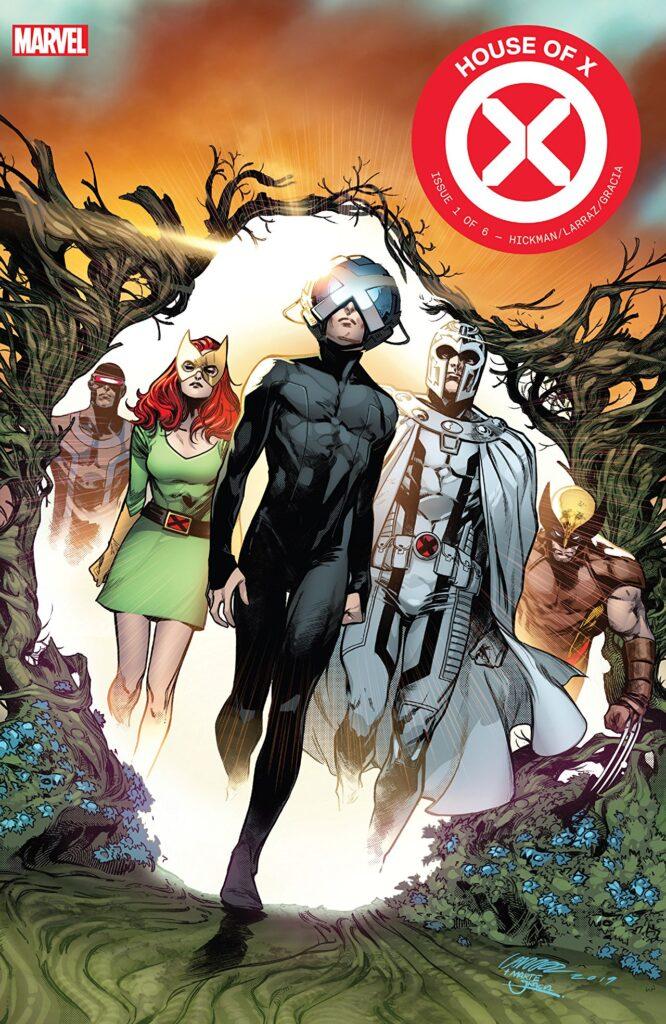 House of X copertina primo numero fumetti ottobre
