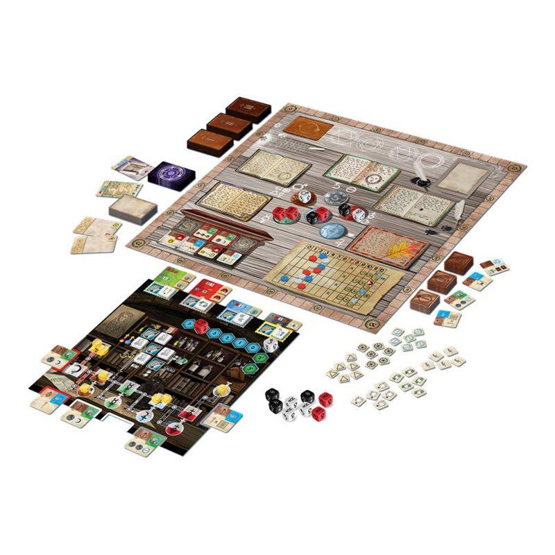 Trismegistus: i componenti del gioco