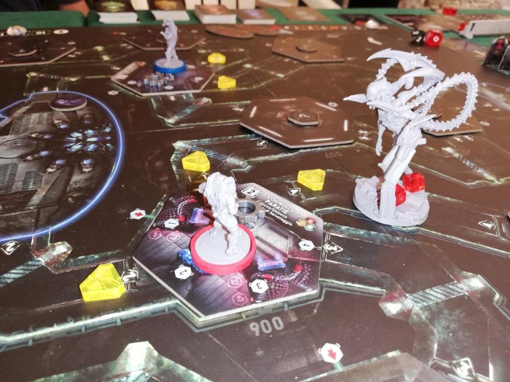 Nemesis: situazione di gioco