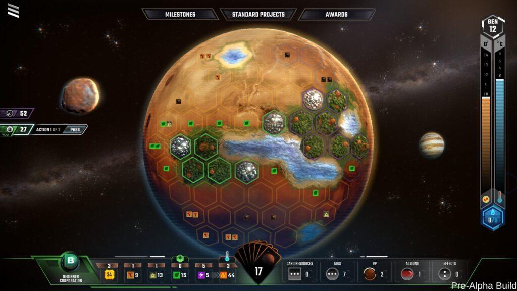 Coronavirus: Terraforming Mars