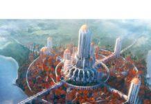 5D Diamond Painting Beautiful City Scenery Paint with Diamonds Art Crystal Craft Decor