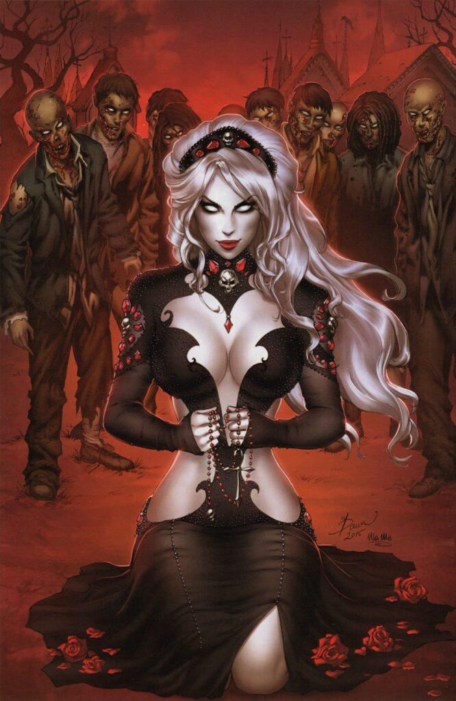 Lady Death e le sua...prepotenza!
